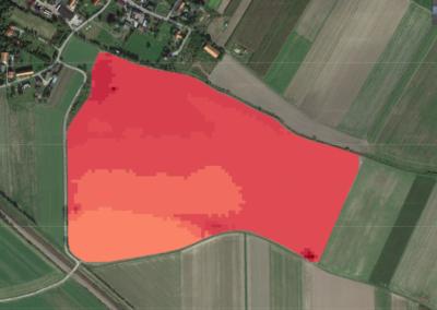 AgriSoil wyniki skanowania konduktometrem - struktura gleby