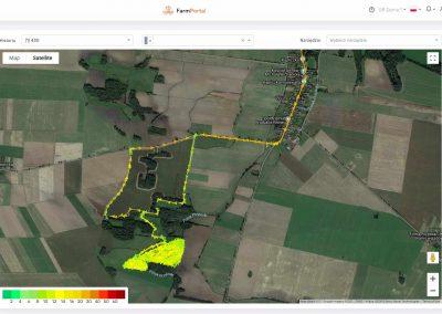 FarmPortal - Digital Crops - monitoring maszyn rolniczych z pomiarem prędkości